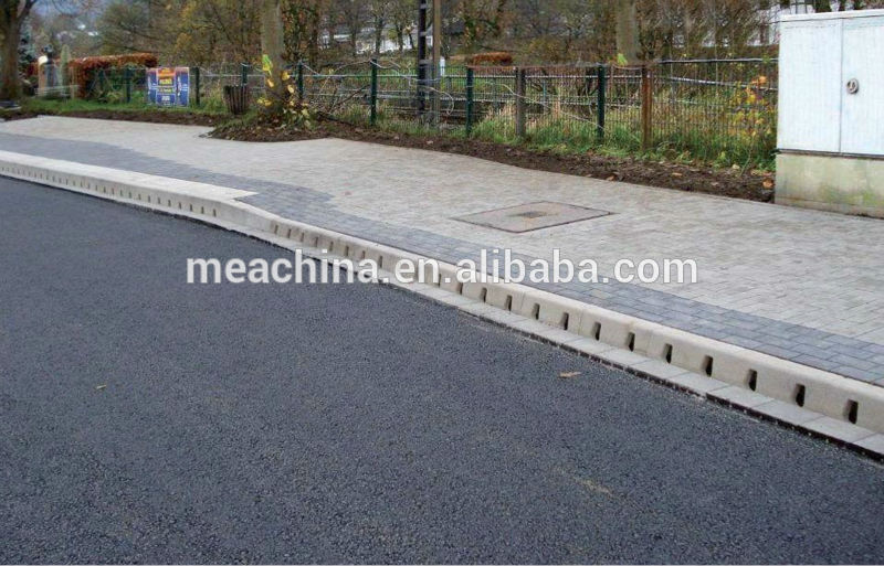 Polyester Concrete Kerb And Channel Drainage System Oem