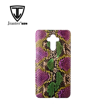 Wholesale Custom Printed Exotic Leather Cell Phone Case Supplier, Python Snake Skin Case For Leather Mobile Phone
