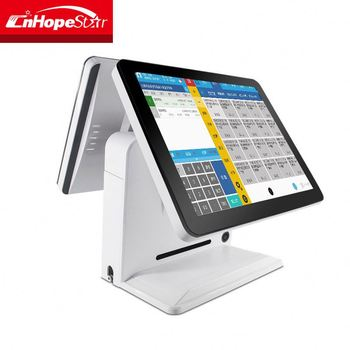 "15"" Pos Terminal/Pos System/ Epos All In One Pos Capacitive Touch Screen Pos"