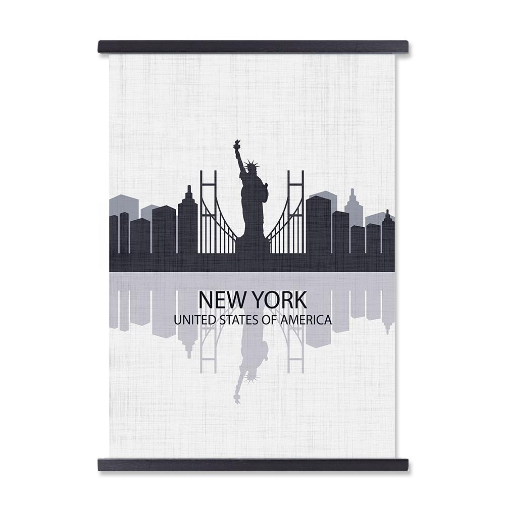 Custom Design Art Printing Poster Wall Hanger Magnetic Frame for A4 Prints
