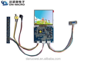 Cheap price CVBS and VGA input lcd display connect board for monitor