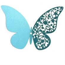 12 штук полых 3D Бабочка стикер стены для свадьбы домашнего декора бабочки на стене комнаты декора многоцветные наклейки(Китай)