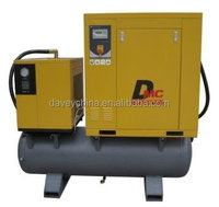 20hp, rotary screw compressor with 500L tank