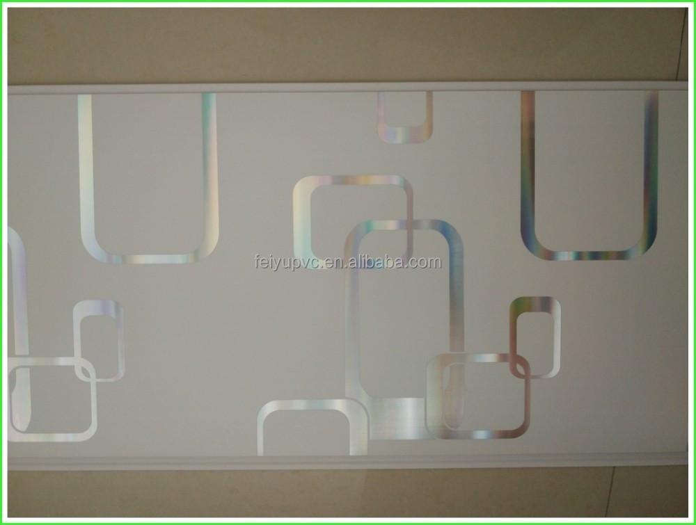 Pvc plafond ontwerpen kunststof panelen voor wanden vals - Pvc wandpaneele ...