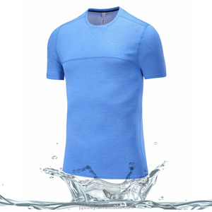 Hubei garment factory price 100% polyester wholesale blank t-shirts