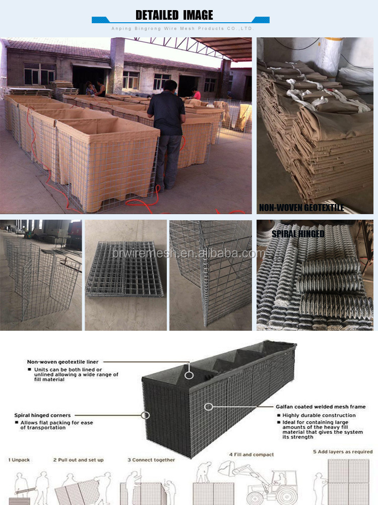 Defensive Barriers Recoverable MIL Units