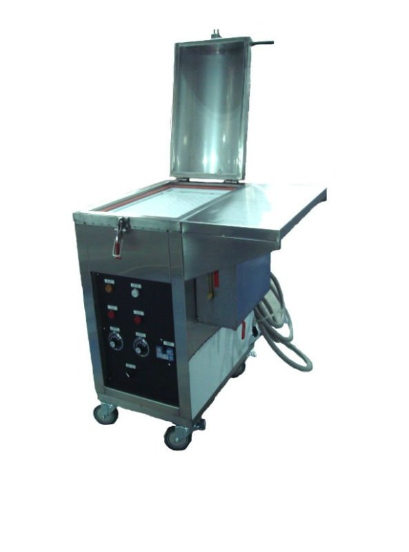 Electric Dual purpose steamer machine