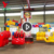 Adults Outdoor Classical Kids Playground Equipment Children Amusement Energy Storm Rides