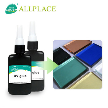 Colorless Environmental Protection Epoxy Resin for UV Glue Used to Glass to Glass