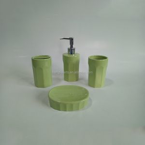 colour glazed used home hotel ceramic accessories bathroom