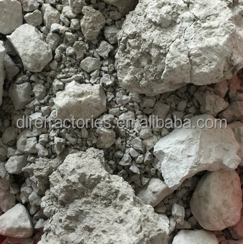 China Dalian export high quality block-shaped un-washed ball clay