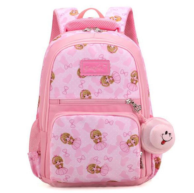 Latest Cute Girls Baby School Bags Korean Gift Kids Bags School ... 18b24905eef64