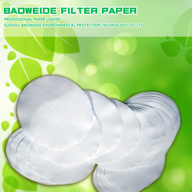 Medium speed 80g quantitative analysis filter paper for medical with good quality