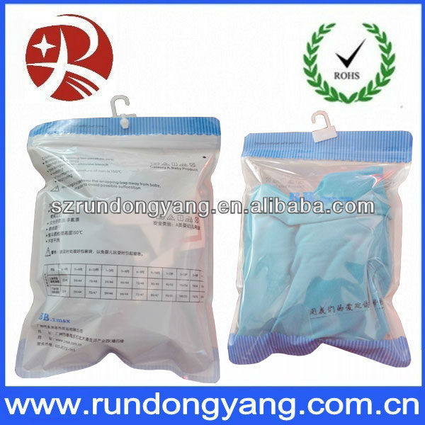 hanger hook plastic bags for clothes