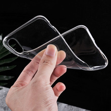 Factory Ultra Thin Protective Series Crystal Transparent Gel Cover for iPhone X TPU Case Clear Fast Shipping