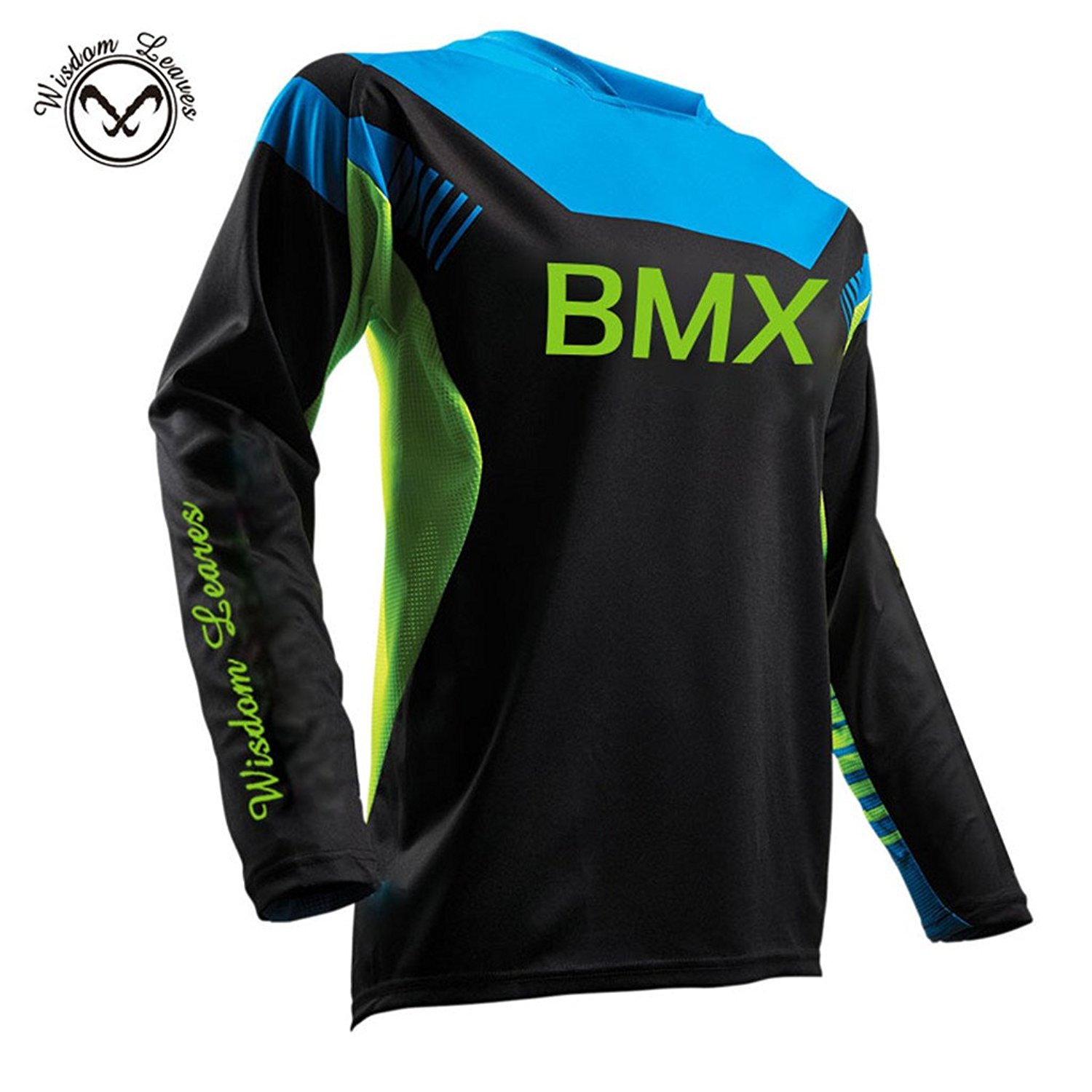 Get Quotations · Wisdom leaves Bike Wear Mens Downhill Jersey Rage MTB  Cycling Top Cycle Long Sleeve Spring Motocross 8027c334b