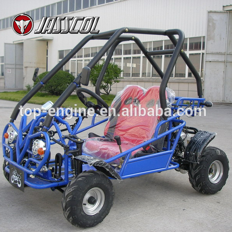 Venta caliente CVT 4 ruedas buggy gas barato 110CC mini off road go ...