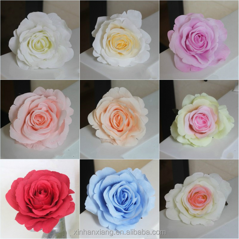 Roses head artificial wedding opening celebration hotel venue background silk <strong>flower</strong> artificial fake <strong>flower</strong> factory wholesale