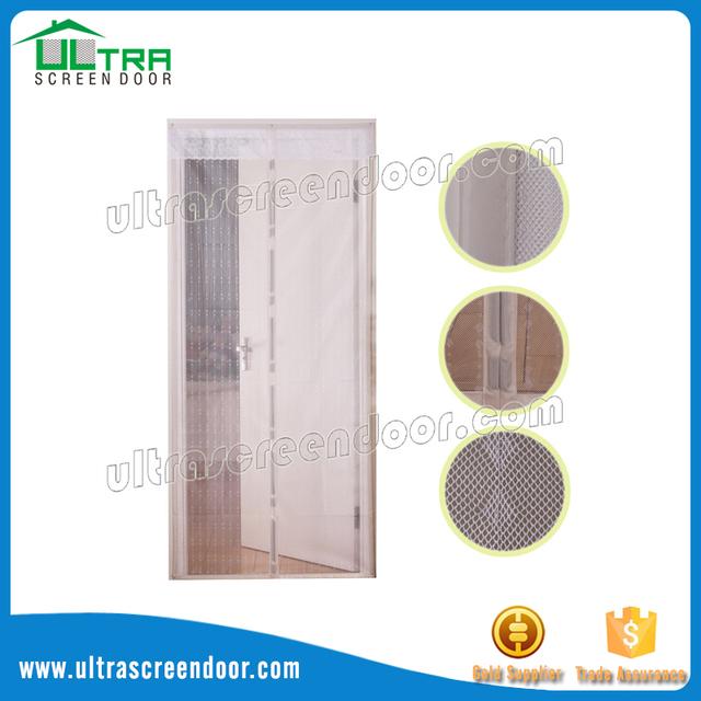 Reinforced Screen Door Stickers Included Magnetic Sliding Glass Door Screen