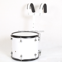 "Marching Drum with Carrier 14""x12""/ Musical Instruments"