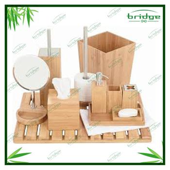badkamer accessoire set voor thuis en hltel duurzame moderne decoratieve bad set natuurlijke. Black Bedroom Furniture Sets. Home Design Ideas