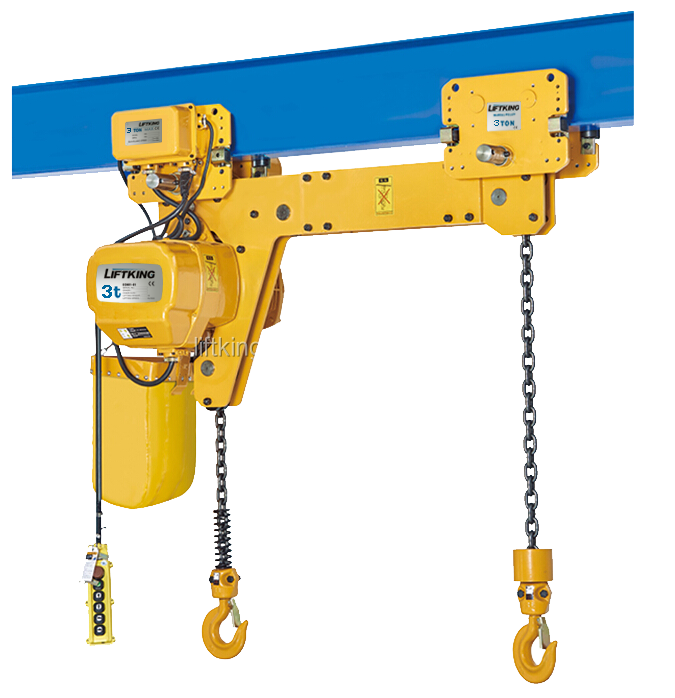 Electric Chain Hoist With Hook: Liftking Dual Hook Electric Chain Hoist For Crane (ech0.25