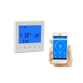 Wifi 3-speed fan controller central cooling FCU thermostat for air conditioner