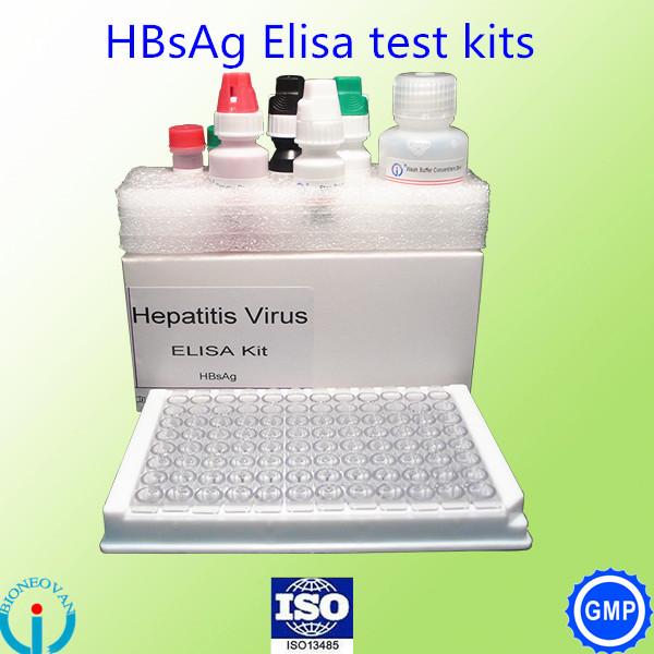 Hepatitis B Hbsag Elisa Test Kits Blood Grouping Reagent