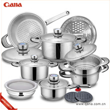 Professional Platinum Stainless Steel Waterless Cookware