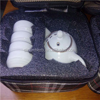 Ceramic Tea Set 5 in 1 Travelling Tea Pot