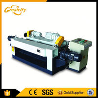 1300mm combined 4 feet spindle wood veneer peeling machine