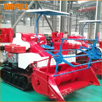 Direct factory supply best selling 4L-1.0 kubota rice combine harvester