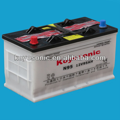 Lead Acid Dry Battery for Car Starting-N95-12V95AH