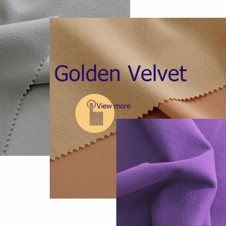 China direct textiles 100% polyester suede fabric,adhesive backed fabric velvet,synthetic leather suede bonded faux fur fabrics