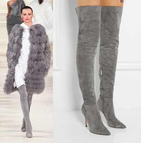 037cefa688a8d botas altas mujer grises