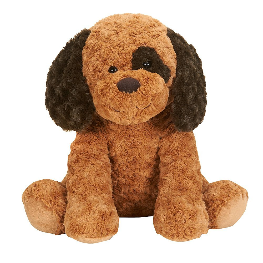 Toys R Us Plush 17 inch Sitting Dog - Brown