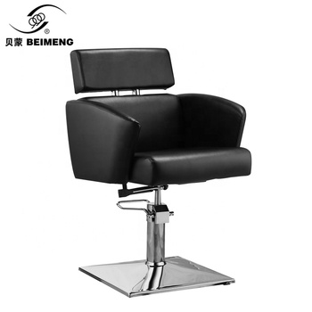 Elegant princess black and white reclinable beauty hydraulic salon chair