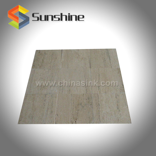 Beige Travertine Natural Stone Tile