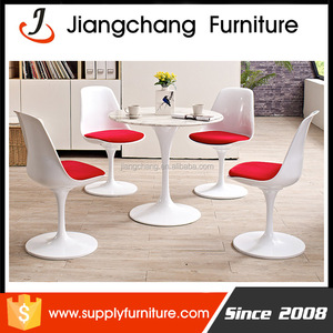 Fiberglass Tulip Table And Tulip Chair