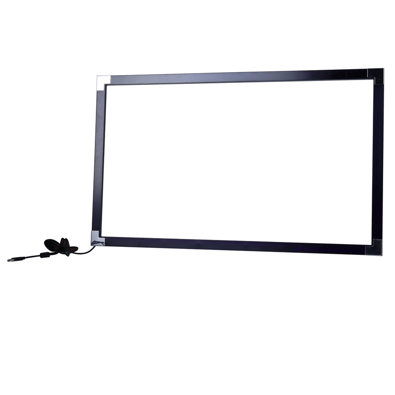 Plastic multi points ir touch screen frame for tv