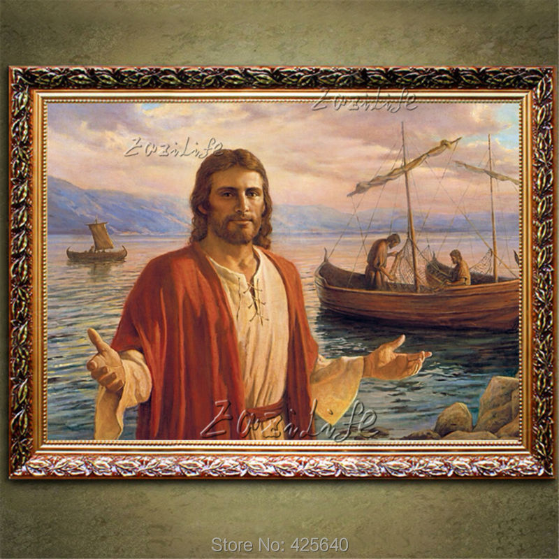 Home Interior Jesus: Aliexpress.com : Buy Home Decor Jesus Christ Painting The