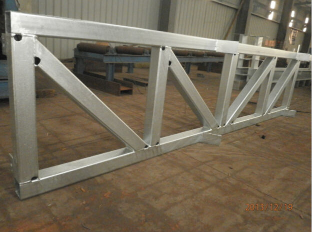 Easy Install Light Weight Steel Roof Truss For Warehouse
