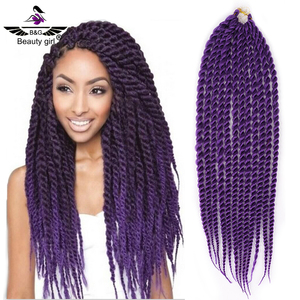 Top sell in usa 24inch synthetic hair attachment freetress ultra braid hair