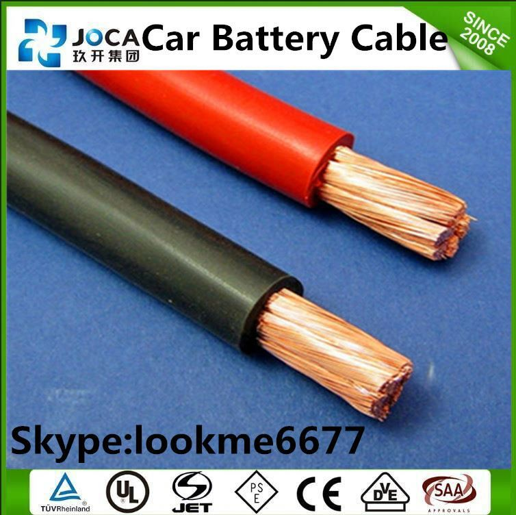 PVC electrical wire 35mm car battery cable 16mm2/25mm2 jumper cable