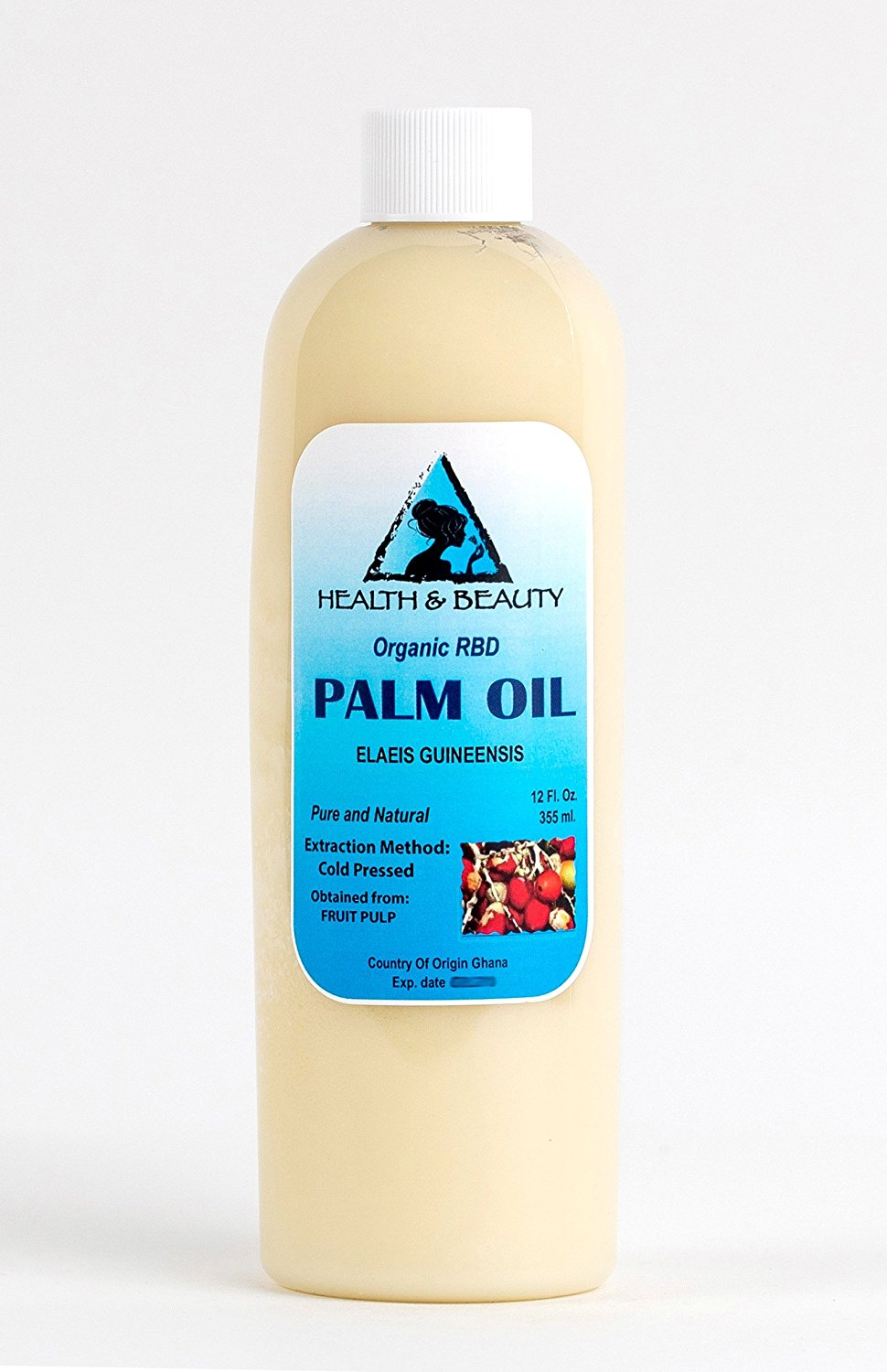 Palm Oil RBD Organic Carrier Cold Pressed Pure 36 oz