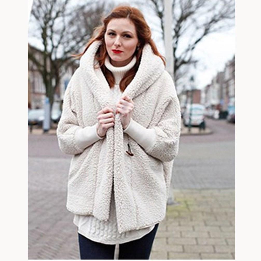 b328fcbd290 2019 Winter Fashion Women Faux Fur Coat Casual Oversize Warm Thick ...