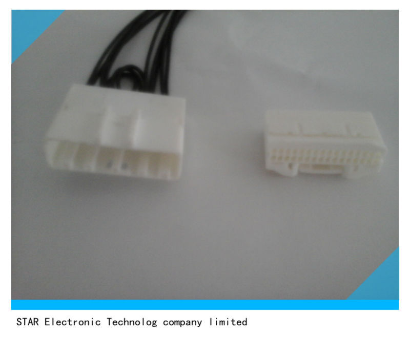 male female plug 32 pin connector for nissan