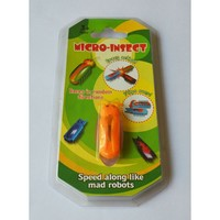 2015 newest novel toy insect, rubber electric vibrating insect, micro insects