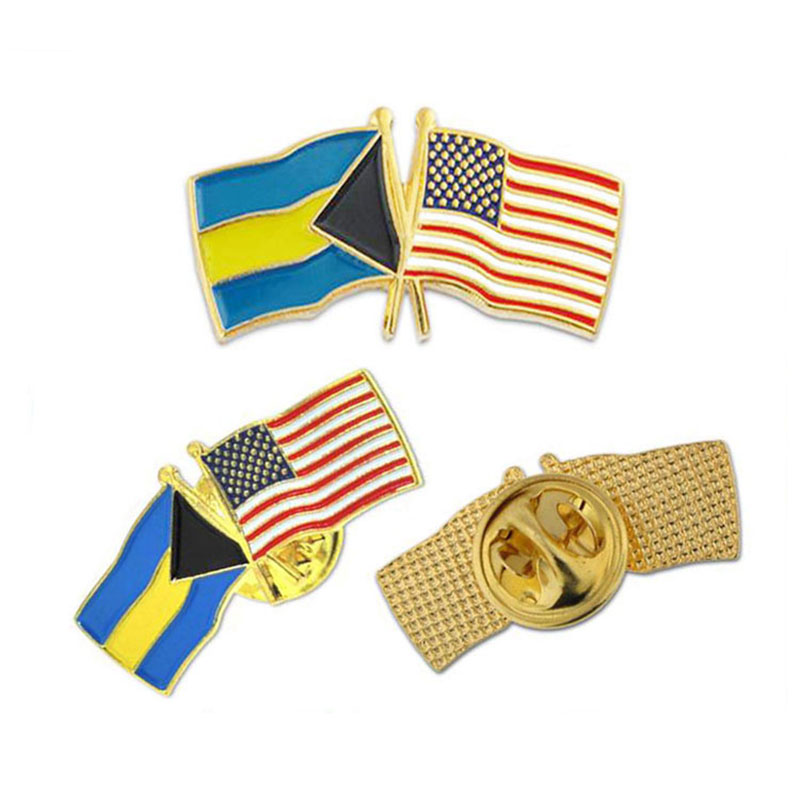 2019 Hoge Kwaliteit Custom Hard/Zacht Email Nationale Badge Revers Pin Amerikaanse Vlag Pins