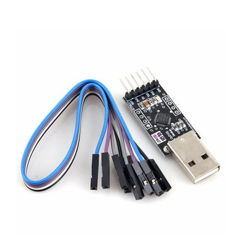 New USB 2.0 to UART TTL 6PIN Connector Module Serial Converter CP2102